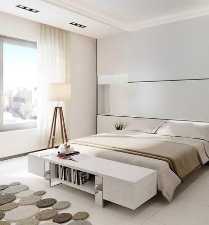confort chambre à coucher