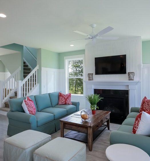 La décoration intérieure d'une maison